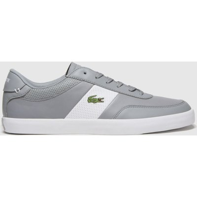 Lacoste Grey Court-master Trainers
