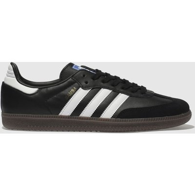 Adidas Black & White Samba Og Trainers