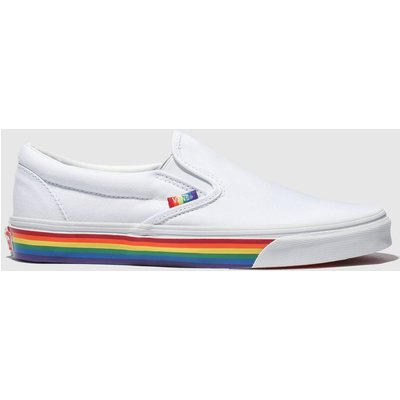 Vans White Classic Slip-on Trainers