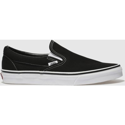 Vans Black & White Classic Slip-on Trainers