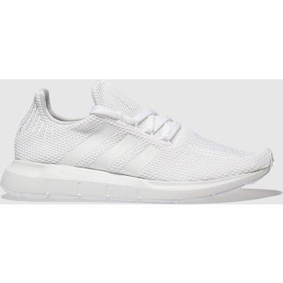 Adidas White Swift Run Trainers