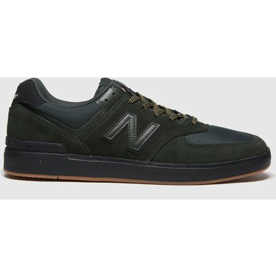 New Balance Dark Green 574 Trainers