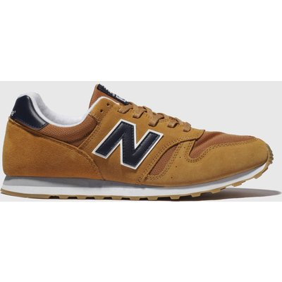 New Balance Tan 373 Trainers