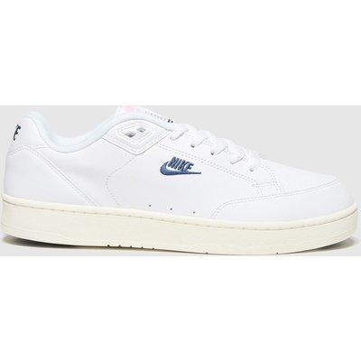 Nike White Grandstand Ii Trainers
