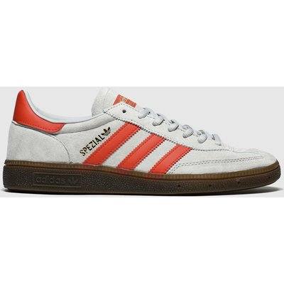 Adidas Silver & Red Handball Spezial Trainers