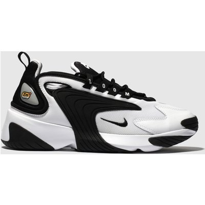 Nike White & Black Zoom 2k Trainers