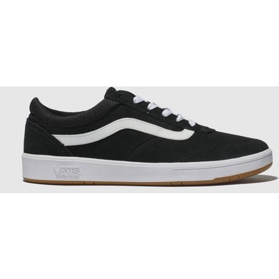 Vans Black & White Cruze Trainers