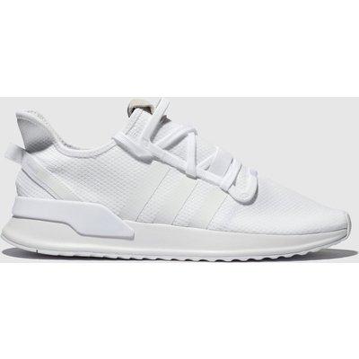 Adidas White U_path Run Trainers