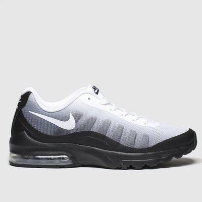Nike White & Black Air Max Invigor Trainers