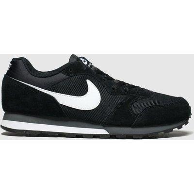 Nike Black & White Md Runner 2 Trainers