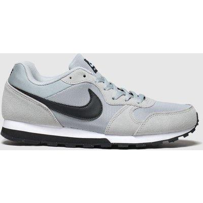 Nike Grey & Black Md Runner 2 Trainers