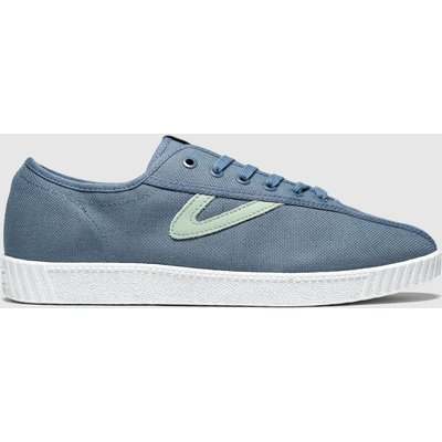 Tretorn Blue Nylite Canvas Trainers