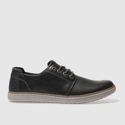 SKECHERS Black Lanson Vernes Shoes