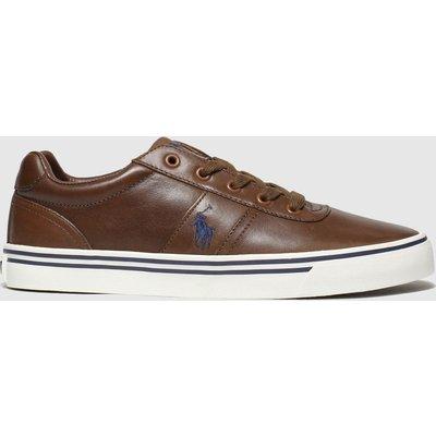 Polo Ralph Lauren Brown Hanford Shoes