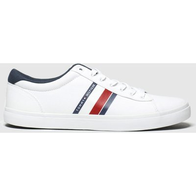 Tommy Hilfiger White Essential Stripes Sneaker Trainers