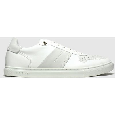 Ted Baker White Coppin Trainers