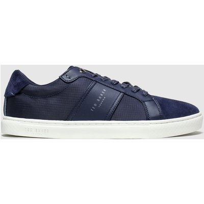 Ted Baker Navy Qwuin Trainers