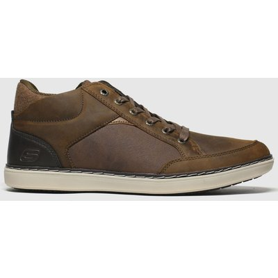 SKECHERS Brown Lanson Chukka Trainers