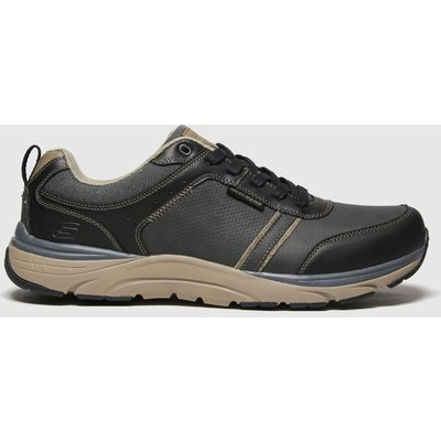 SKECHERS Black Sentinal Lunder Trainers
