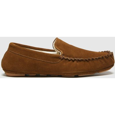 Schuh Tan Sawyer Suede Mocc Slippers