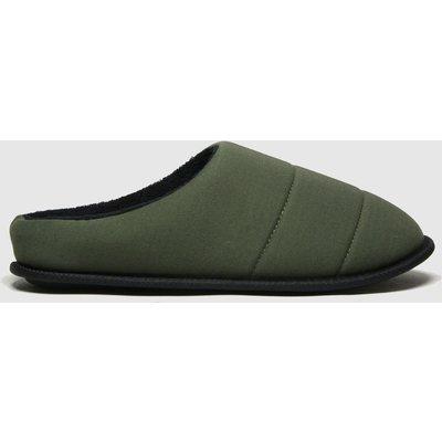Schuh Khaki Seth Padded Mule Slippers