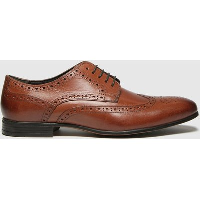Schuh Brown Rowen Leather Brogue Shoes