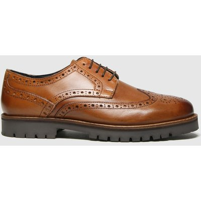 Schuh Tan Quintin Leather Brogue Shoes
