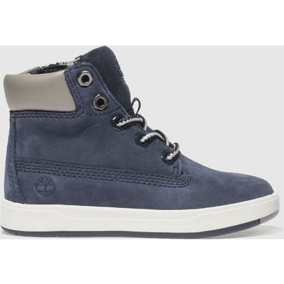 Timberland Navy Davis Square 6 Inch Boots Toddler