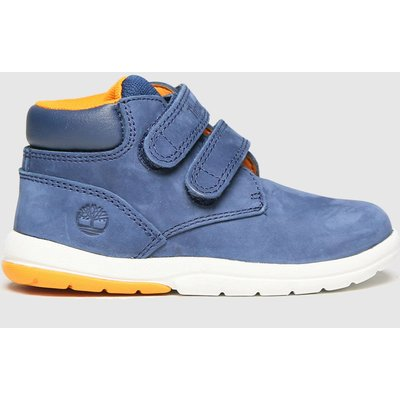 Timberland Navy Toddle Tracks Boots Toddler