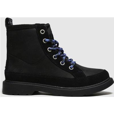 UGG Black Robley Boots Junior