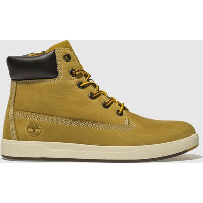Timberland Natural Davis Square 6 Inch Boots Youth
