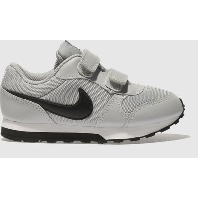 Nike Light Grey Md Runner 2 Trainers Toddler