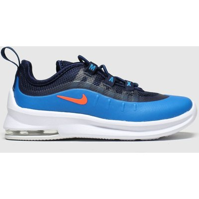 Nike Black And Blue Air Max Axis Trainers Toddler