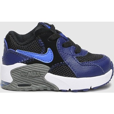Nike Black & Navy Air Max Excee Trainers Toddler