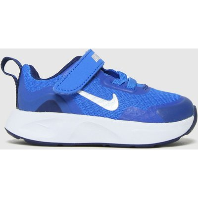 Nike Blue Wearallday Trainers Toddler