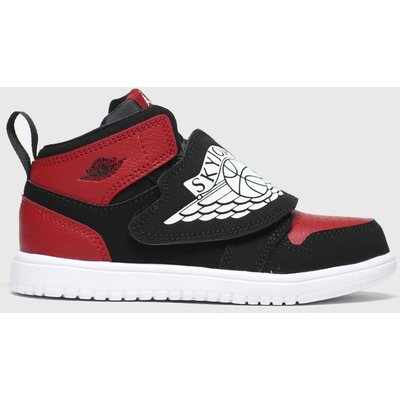 Nike Jordan Black & Red Sky Jordan 1 Trainers Toddler