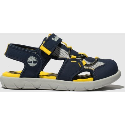 Timberland Navy Perkins Row Fisherman Sandals Junior