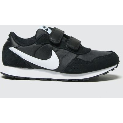 Nike Black & White Md Valiant Trainers Junior
