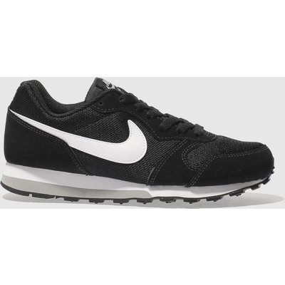 Nike Black & White Md Runner 2 Trainers Youth