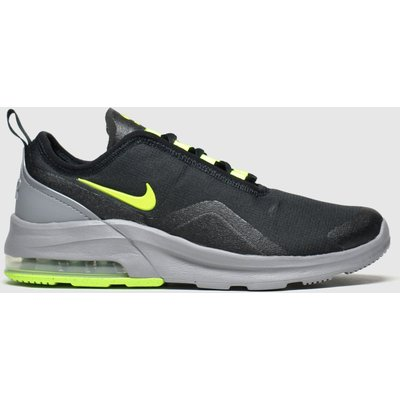Nike Black & Green Air Max Motion 2 Trainers Youth