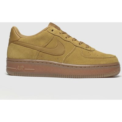 Nike Tan Air Force 1 Lv8 3 Trainers Youth