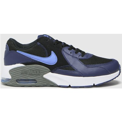 Nike Black & Navy Air Max Excee Trainers Youth