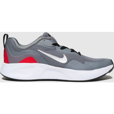 Nike Grey Wearallday Trainers Youth