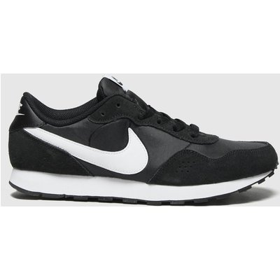 Nike Black & White Md Valiant Trainers Youth