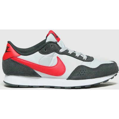 Nike Grey & Black Md Valiant Trainers Youth