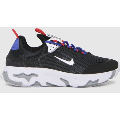 Nike Black & White React Live Trainers Youth
