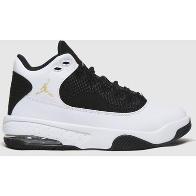 Nike Jordan White & Black Jordan Max Aura 2 Trainers Youth