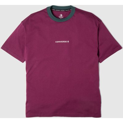 Clothing Converse Burgundy Wordmark Tee
