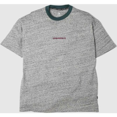 Clothing Converse Grey Wordmark Tee