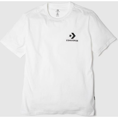 Clothing Converse White Star Chevron Ss Tee